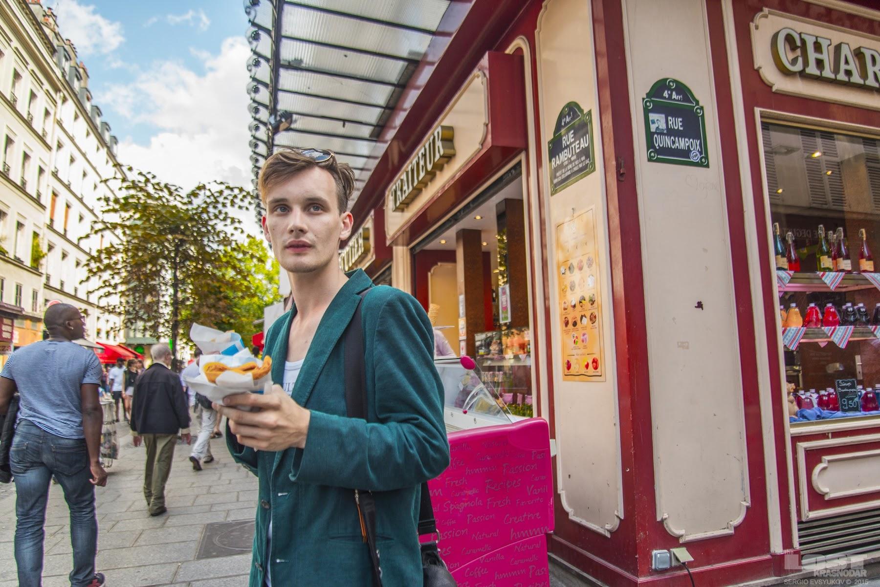 Уличные парижские блины