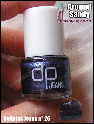 Deliplus - Esmalte Jeans 26 swatches review