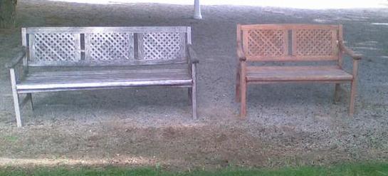 Grupo polonautic tratamiento de teca en muebles de jardin for Tratamiento carcoma muebles