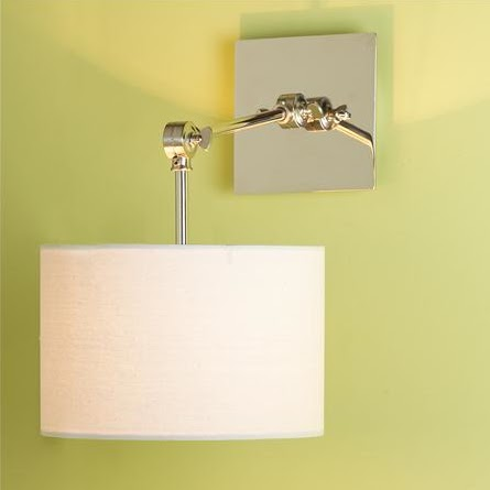 Affordable Modern Wall Sconces : design dump: affordable find: swing arm sconce