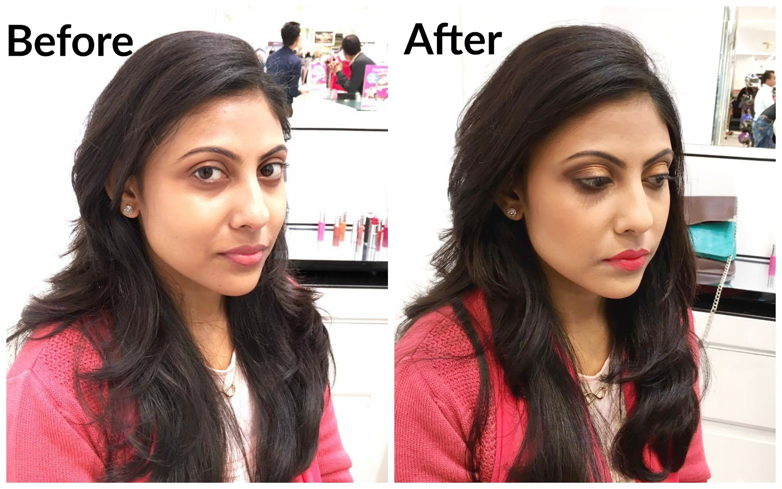 My Givenchy Makeover: Bronze Smoky Eyes & Bold Lips by Ajoy Sengupta|cherryontopblog.com