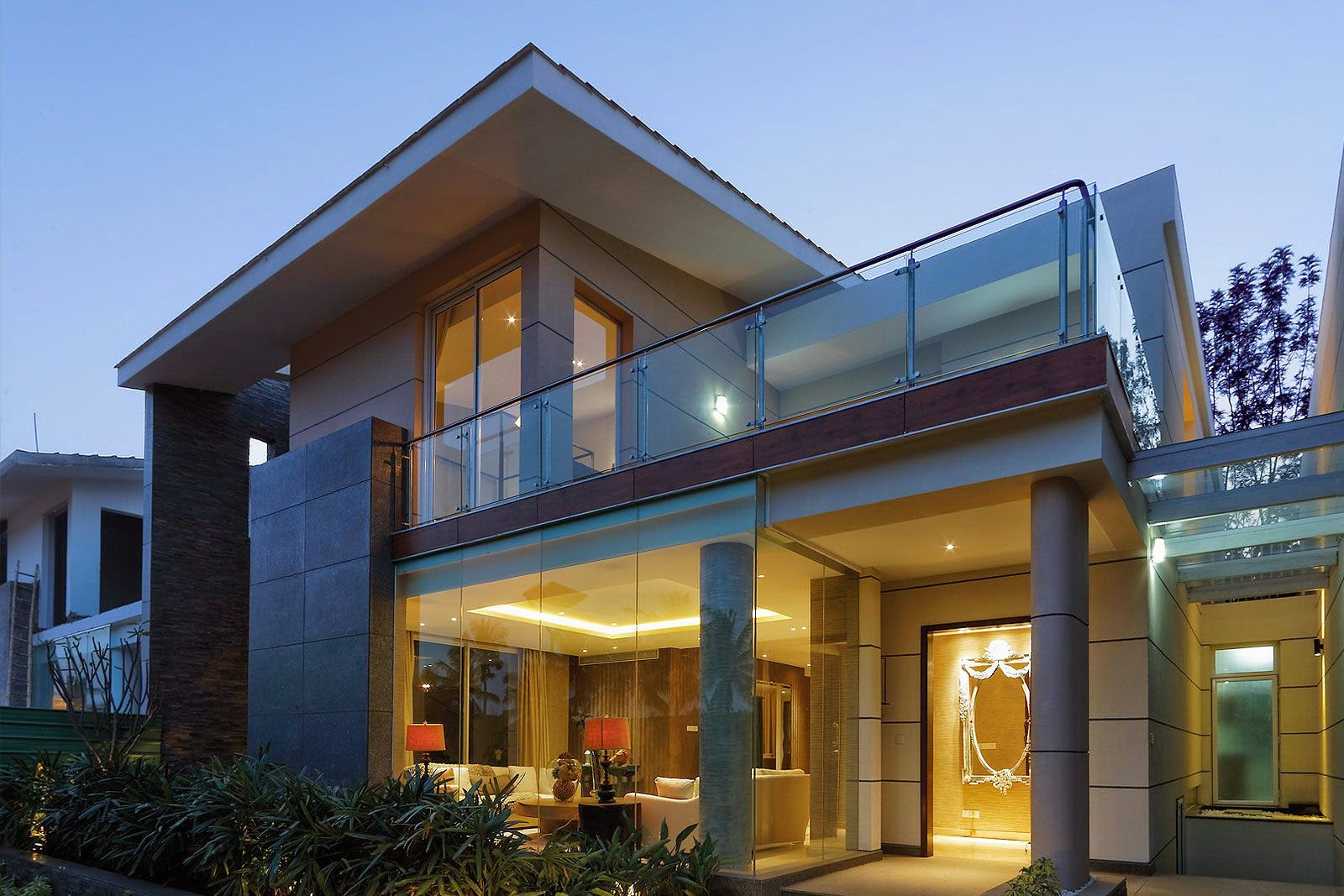 Contemporary architects Modern Bangalore