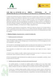 GUÍA PARA LA ACTUACIÓN EN EL ÁMBITO PROFESIONAL DE LA ADMINISTRACIÓN DE LA JUNTA DE ANDALUCÍA EN RE