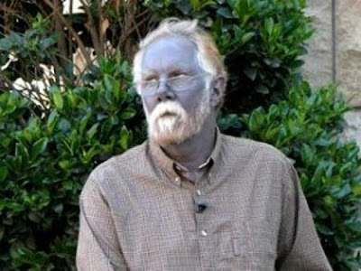piel azul