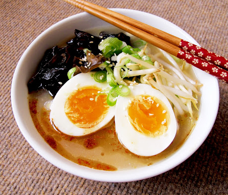 Rich And Creamy Tonkotsu Ramen Broth Recipes — Dishmaps