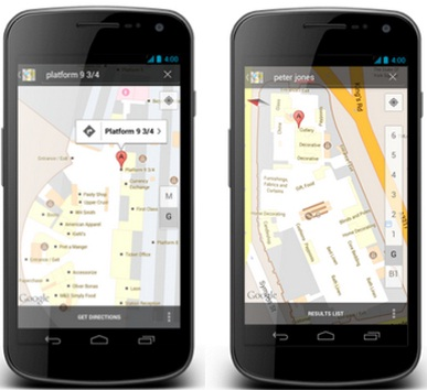 Indoors Google Maps for UK and Switzerland for Android now available
