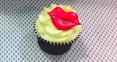 Labios / Morritos para decorar cupcakes