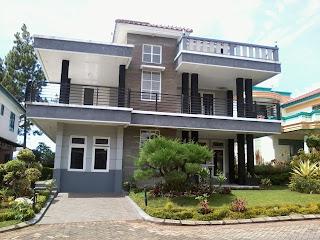 sewa villa kota bunga puncak type seruni minimalis 5 kamar
