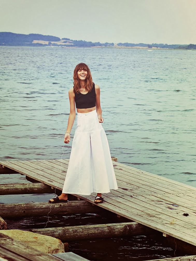 Freja Beha Erichsen by Cass Bird for Vogue UK November 2013