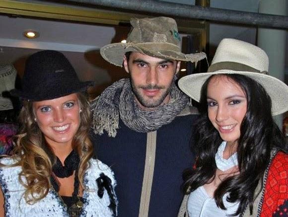 sombreros peinados de moda 2014