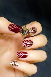 we heart it nail art