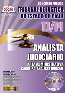 Apostila para cargo Analista Judicial