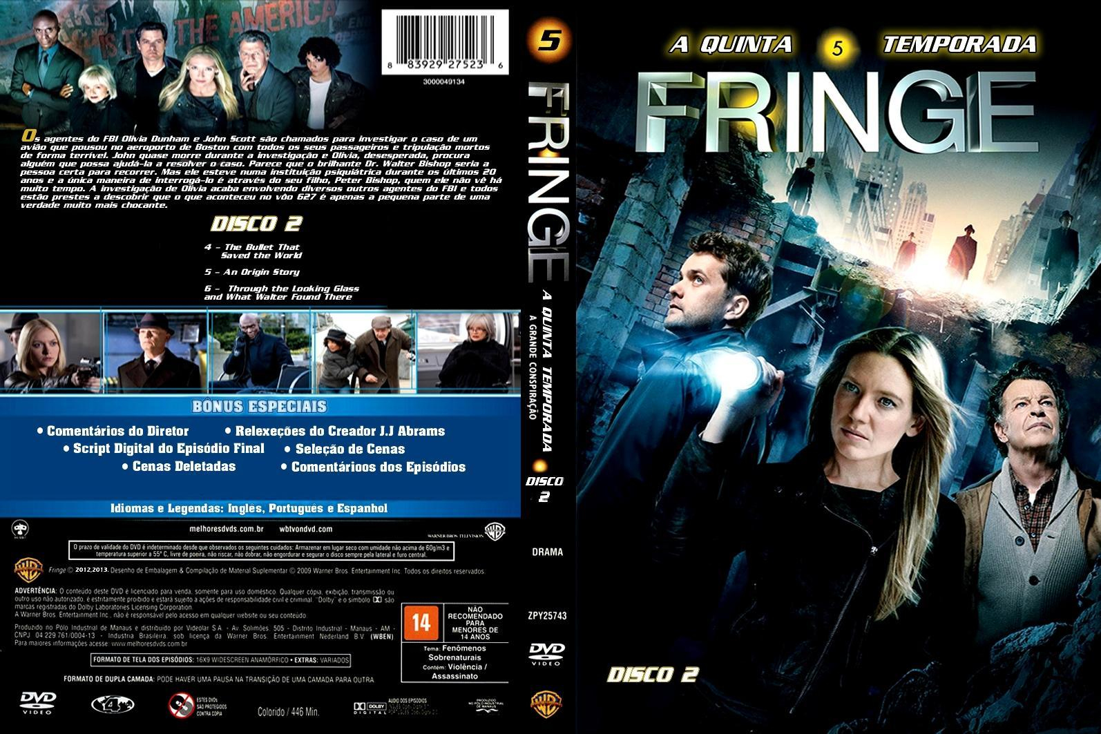 Images of Fringe Wallpaper 4 Temporada - #CALTO