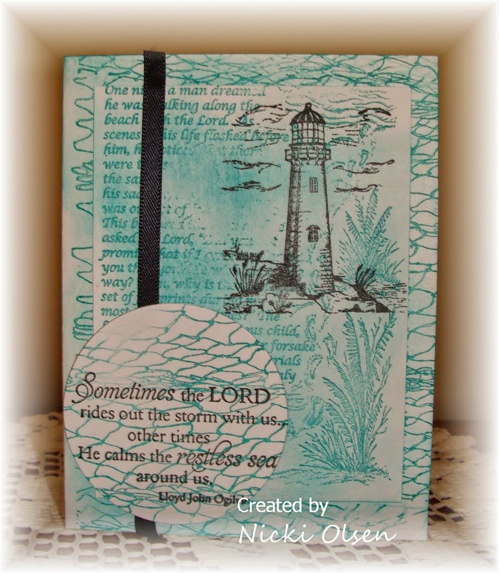 Our Daily Bread Designs, Light of the World, Fishing Net Background, The Anchor, Footprints, Faith Mini