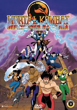 Mortal Kombat Defensores da Terra 1ª Temporada Dublado