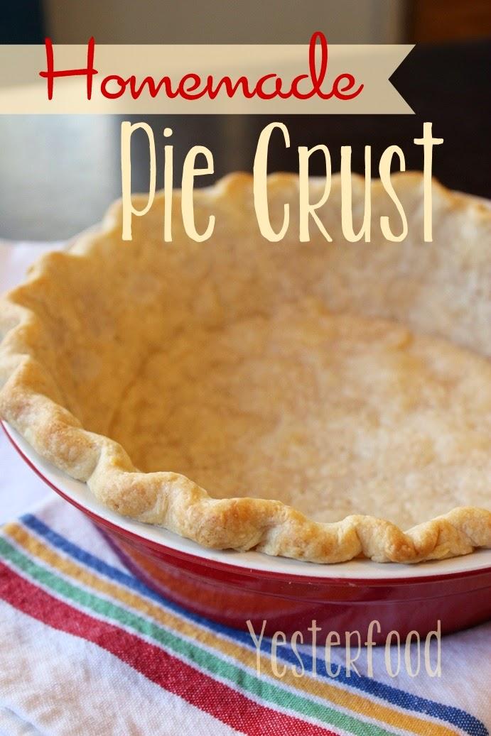 Yesterfood : Homemade Pie Crust