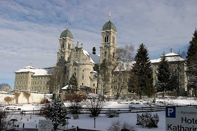 Abadia de Einsiedeln: local do milagre