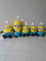 Boneka Minion Despicable Me