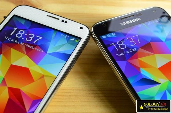 Phân biệt Samsung Galaxy S5 thật và giả.