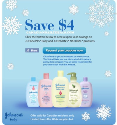 Coupons for baby products canada