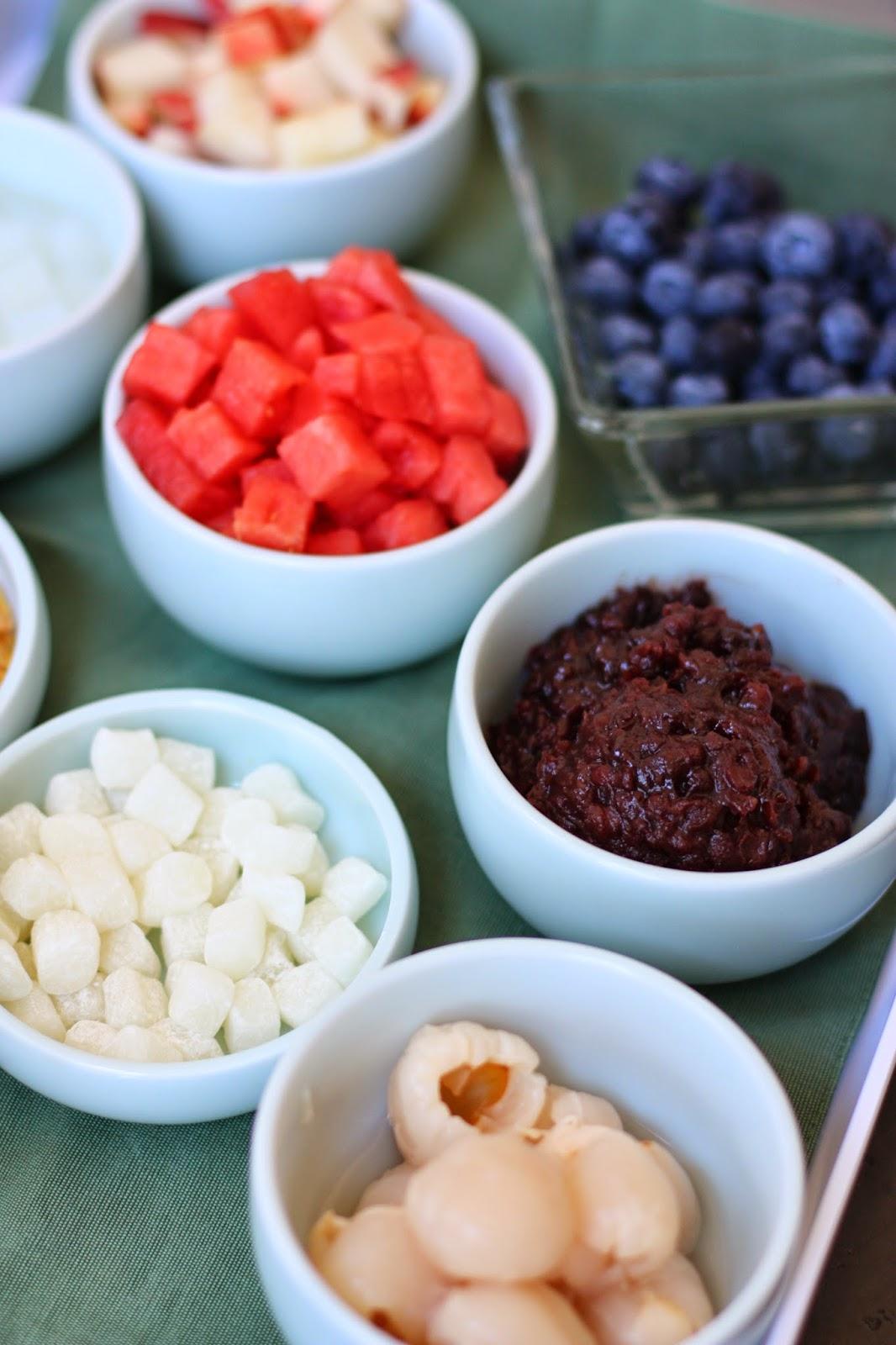 Week of Menus: Korean Style Red Bean Shaved Ice Patbingsoo (팥빙수 ...