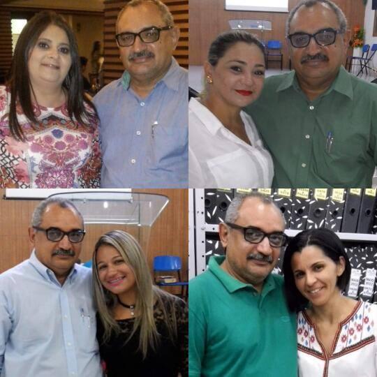 Ana Paz, Claudia, Dayana e Rosani.