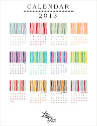 2013 Printable Calendar