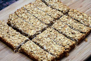 sliced-granola-bars