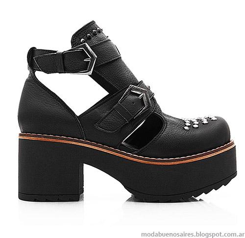 Botas, zapatos y borcegos otoño invierno 2014 Blaque.