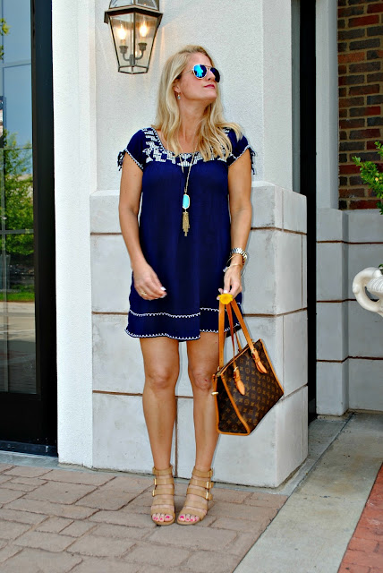 Forever 21 Boho Dress Louis Vuitton Neverfull Kendra Scott