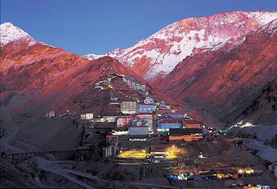Sewell Chile patrimonio de la Humanidad