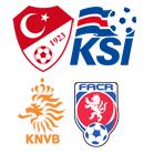 Türkei - Island & Niederlande - Tschechien