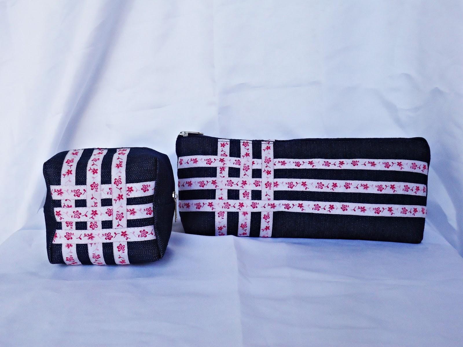 Bolsa Para Lapis Em Tecido : A modista bolsas artesanais porta l?pis em tecido jeans