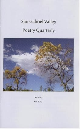San Gabriel Valley Poetry Quarterly Fall 2013
