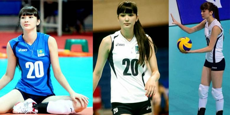 Foto-foto Atlet Voli Cantik Sabina Altynbekova [Gupitan]