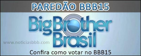 Paredão BBB15