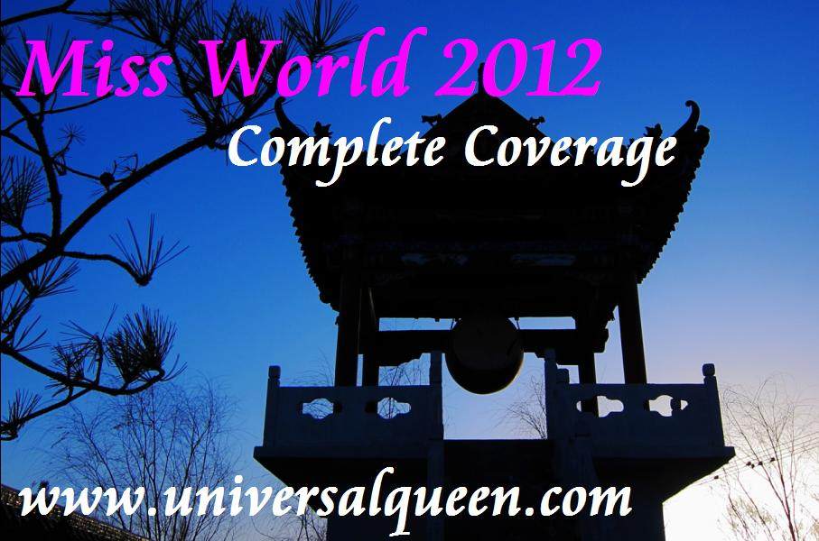 Miss World 2012 Complete Coverage