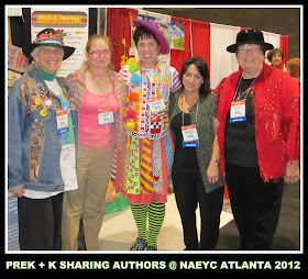 photo of: PreK + K Sharing Authors gather at NAEYC