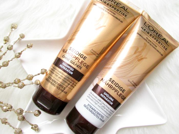 L´Oréal Hair Expertise Seidige Nährpflege - Shampoo & Spülung Reparatur