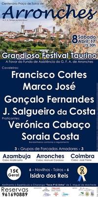 Arronches- Festival Taurino 2017