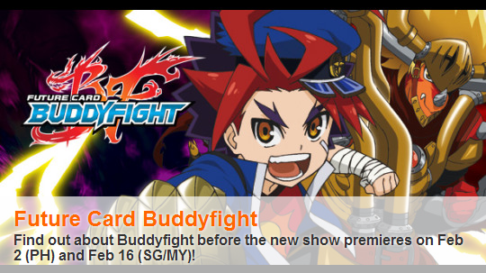 Nickelodeon Philippines Will Debut The All New TV Show Future Card Buddyfight On Sunday 2nd February 2014 With Singapore