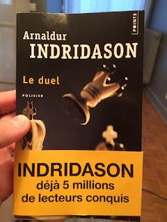 Échecs & Livre : Le Duel, d'Arnaldur Indridason