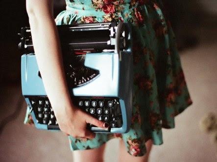 Inspiração: Maquina de escrever vintage