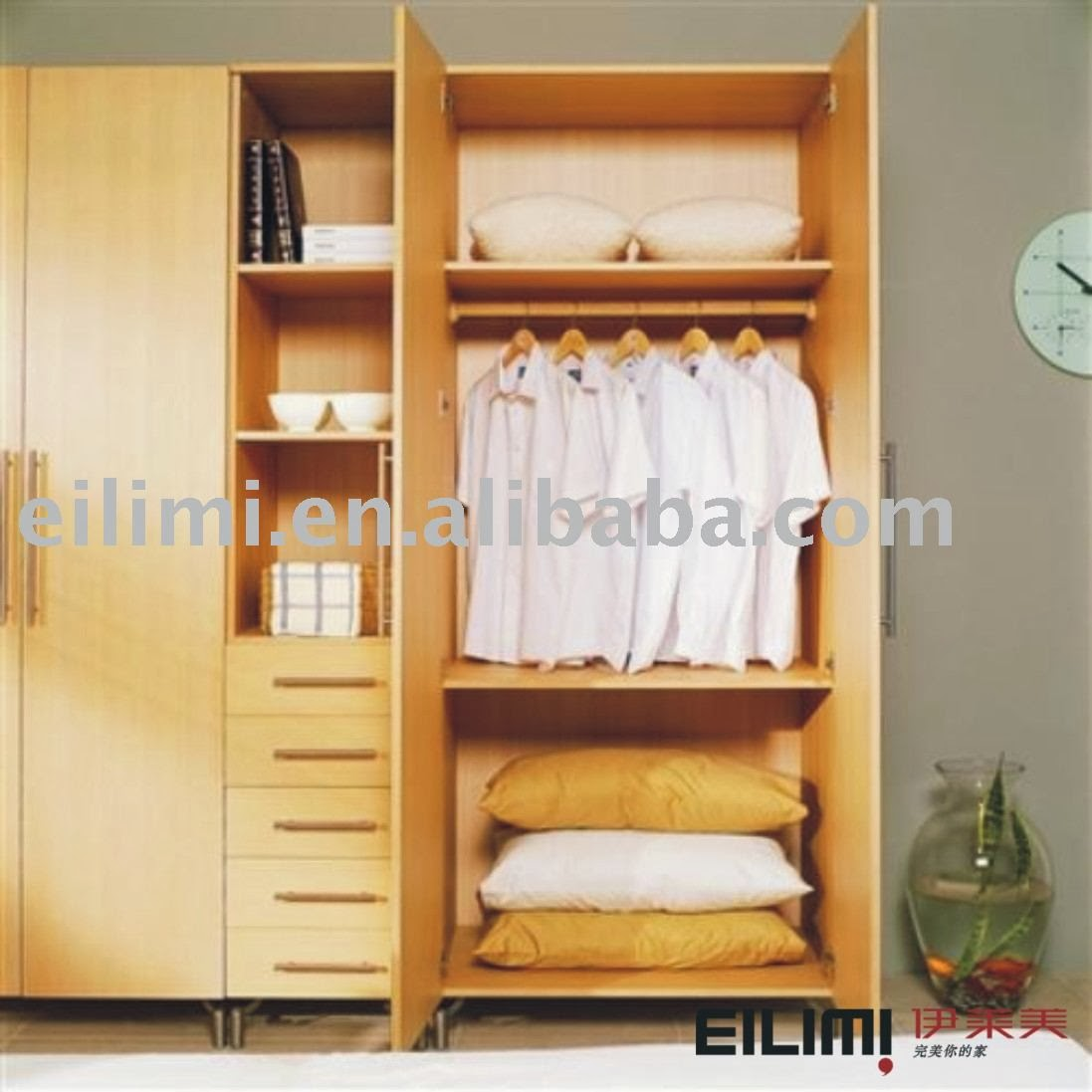 Bedroom cabinet design for Bedroom cupboard designs images