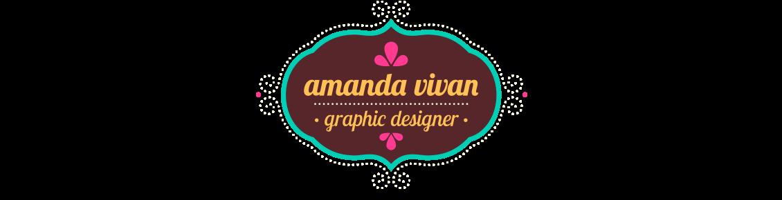 amanda vivan · designer gráfico freelancer · portfolio design gráfico · direção de arte