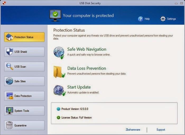 Amankan PC via USB Disk Security 6.5.0.0
