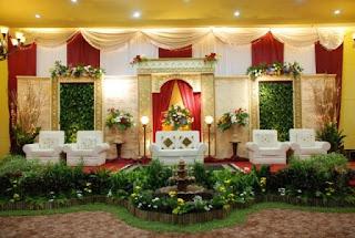 jasa dekorasi pengantin : dekorasi indah modern
