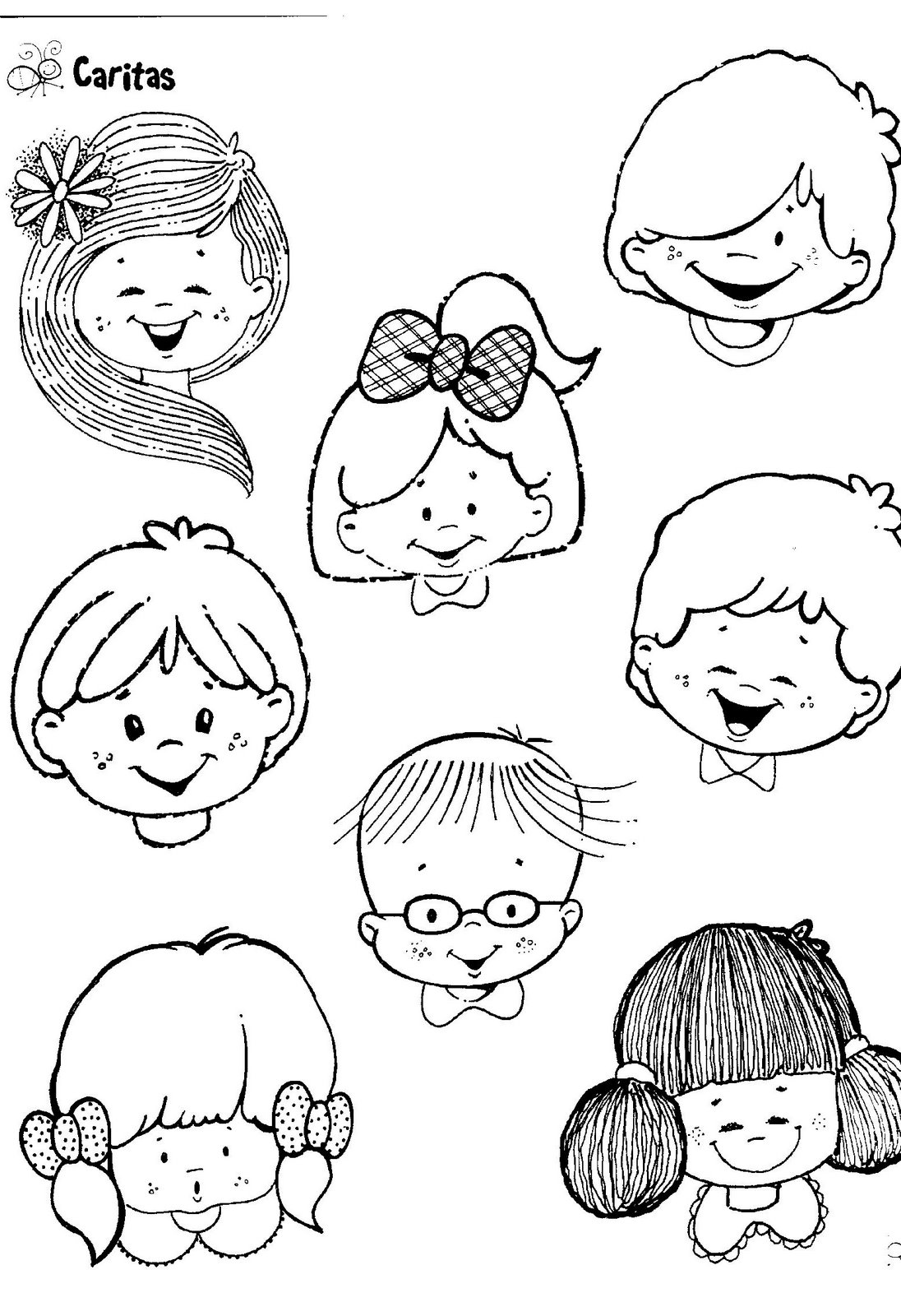 Pin Caritas Para Colorear De Emociones E Imprimir on Pinterest