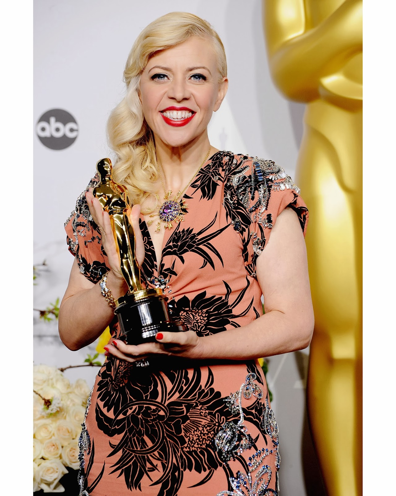 CATHERINE MARTIN AT THE 86TH ACADEMY AWARDS