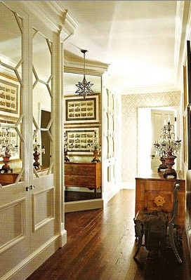 A touch of southern grace mirror mirror on the wall for Southern closets
